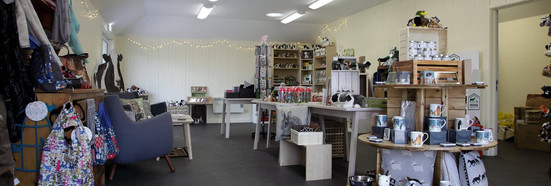 Ferne Animal Sanctuary Shop Interior