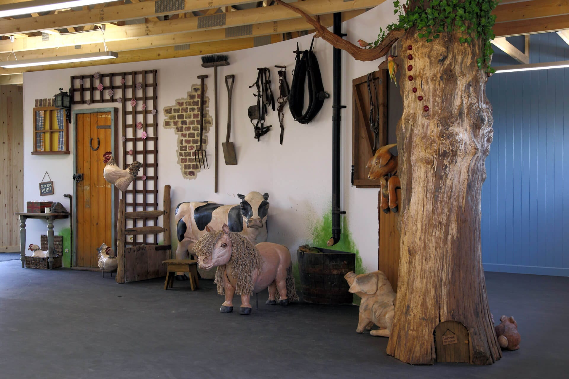 Ferne Animal Sanctuary Visitor Centre Interior