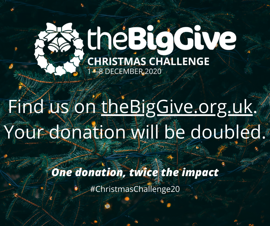 Our Big Give Campaign is now Live