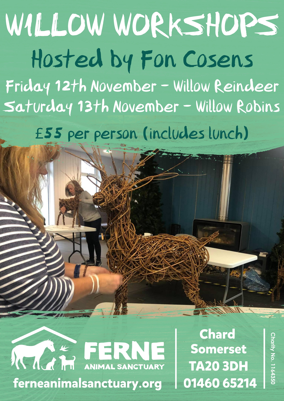 Willow Workshop – Reindeer